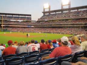 Citizens Bank Park Section 135 Row 18 Philadelphia