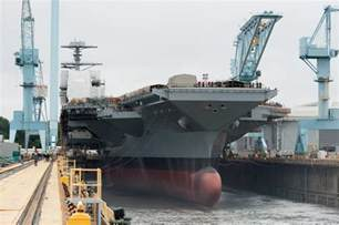 Gerald Ford Carrier Ship Photos Of The Day Gerald R Ford Aircraft Carrier