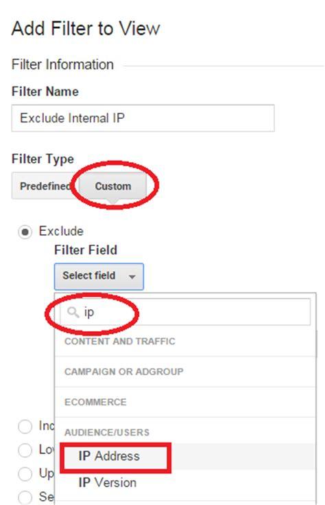 regex pattern ip address basic google analytics filters for every site lunametrics