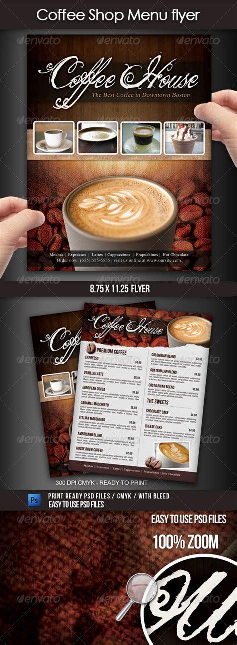 Kebab Menu Flyer Psd Template Download 187 Fixride Com Coffee Shop Template