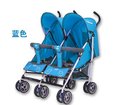 comfortable stroller for toddler baby carriage high quality twins stroller double stroller