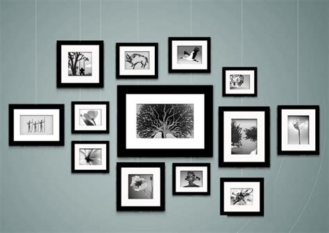 Wand Mit Fotos by Tips For Hanging Quot Gallery Style Quot Stas Picture