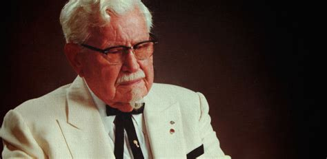 biography of colonel sanders quotes by colonel sanders like success