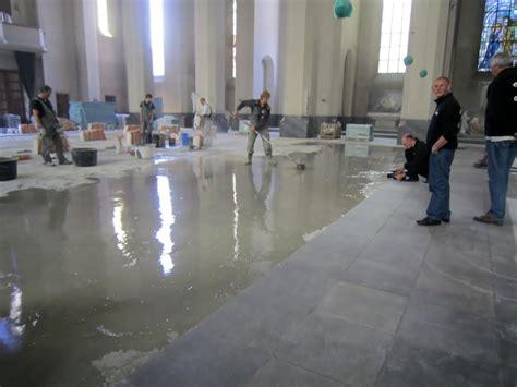Tegelvloer Met Vloerverwarming home gt projecten gt tegelvloer kerk met vloerverwarming