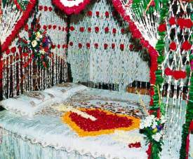 Bridal room latest decoration with flowers 2015 barbie wedding room