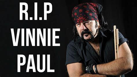 pantera s drummer vinnie paul dies at 54