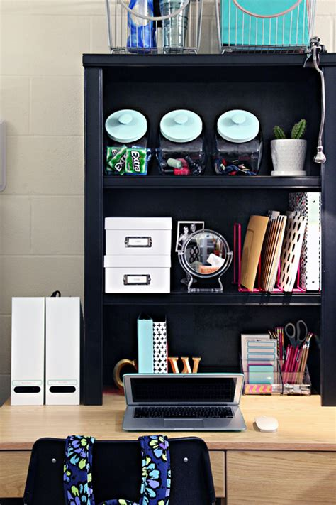 Iheart Organizing Back To School Dorm Room Organization Tips College Desk Organization