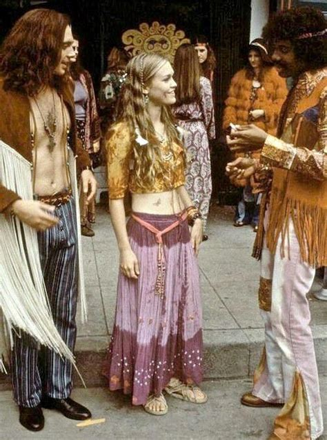 hippy hairstyles in 1960s 1970s hippies style 70 s pinterest 1970s style