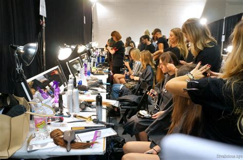 Backstage Mac by Nyfw Backstage With Joico And Mac Cosmetics For
