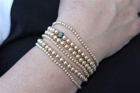 gold beaded bracelet gold beaded bracelet