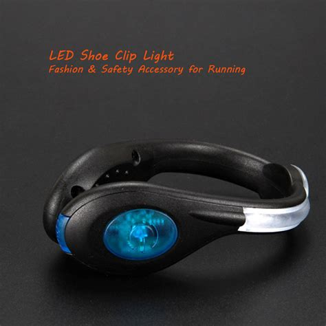 safety lights for runners running shoe lights usb rechargeable clip lights for