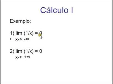 limite tende a infinito limite quando x tende a infinito aula 11 c 225 lculo i