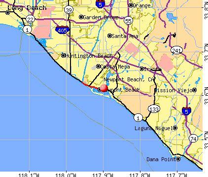 map newport california newport california ca profile population maps