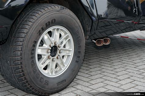 lamborghini countach rear tire size how wide are the