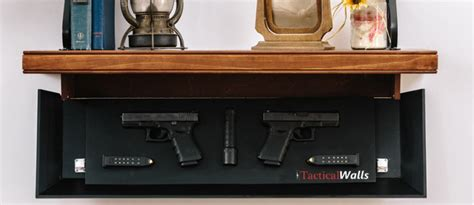 tactical shelves decorative gun storage where you