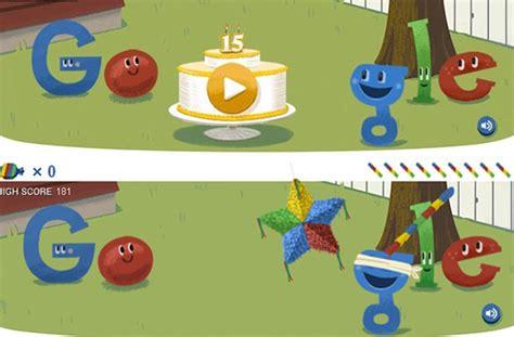 doodle de hoy 15 de septiembre celebra su cumplea 241 os con una pi 241 ata en su doodle