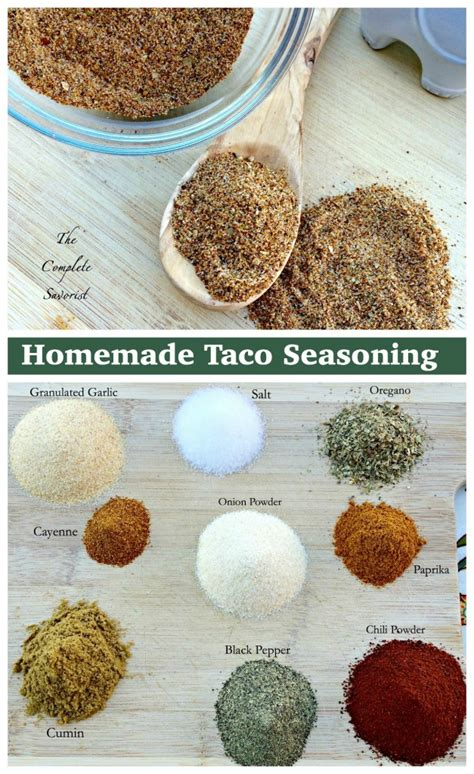 taco seasoning the complete savorist