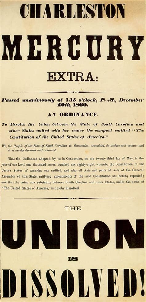 The War Of Secession carolina civil war sesquicentennial