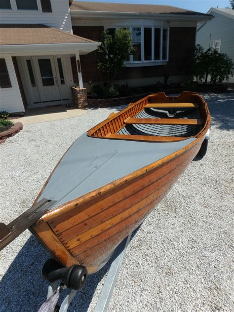 skiff boat rowing row boat row boat rowing skiff 1930 for sale for 3 500