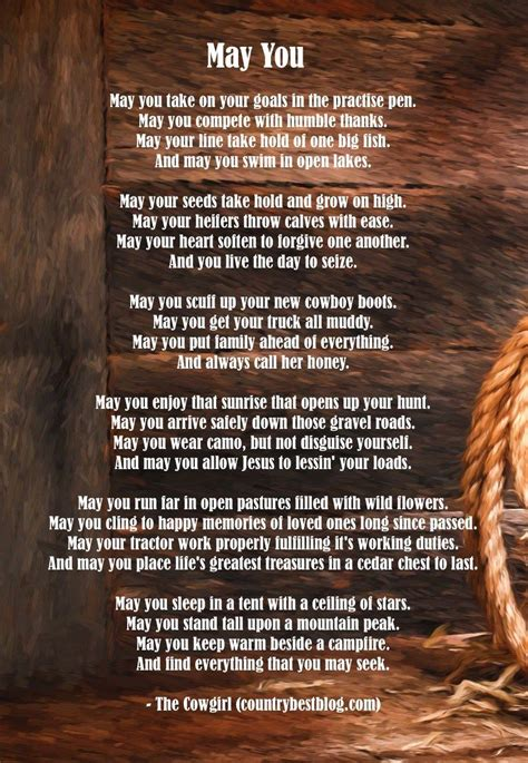 echolyn cowboy poems free quot may you quot cowboy poetry countrybestblog pin poetry