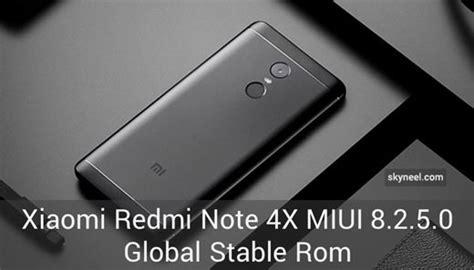 tutorial update xiaomi redmi note 2 new update xiaomi redmi note 4x miui 8 2 5 0 global stable rom