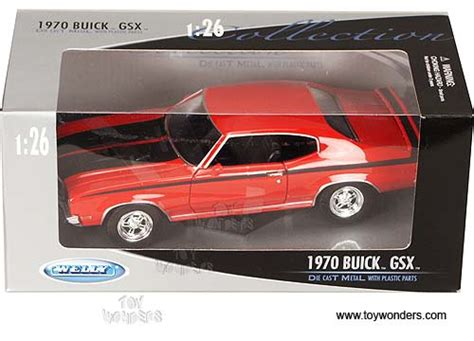 Welly Nex 1970 Buick Gsx 1 1970 buick gsx top by welly 1 24 scale diecast model car wholesale 2433r