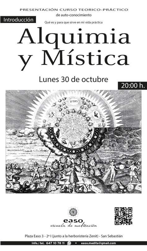 alquimia y mistica alchemy and escuela de meditaci 243 n easo