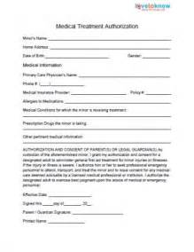 medical release forms for babysitters lovetoknow