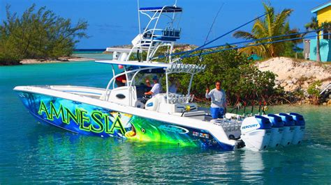 extreme fast boats nor tech 392 extreme fishing adventure hawks nest