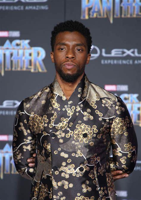 chadwick boseman chadwick boseman is feeling himself at black panther premiere
