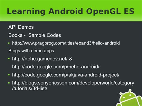 android studio opengl es 2 0 tutorial 3d in android