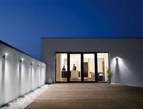 Lu Dinding Outdoor Seri 07 materiales luminarias para proyectos residenciales