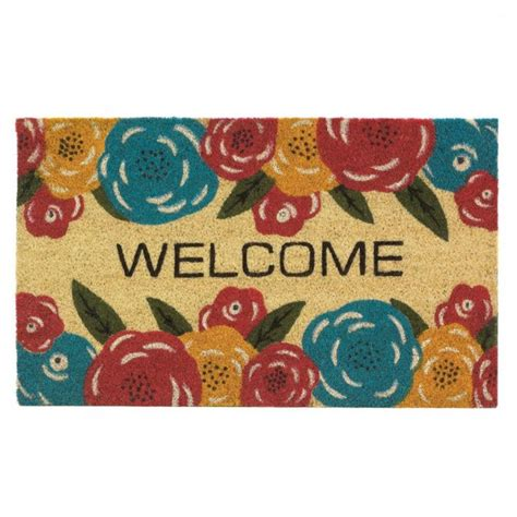 Floral Welcome Mat New Products The Edington Collection Start Your Own