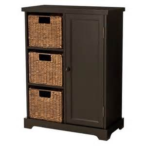 Entry Cabinet Entryway Storage Cabinet Dark Cherry Target