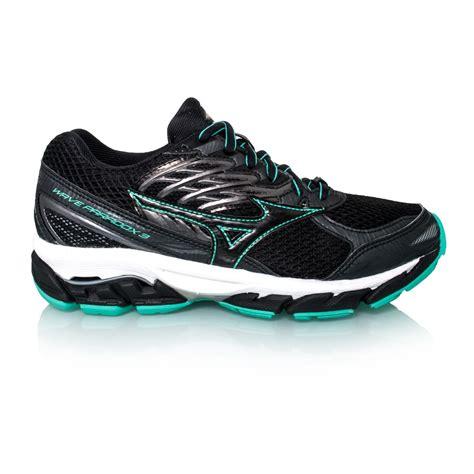 mizuno wave paradox running shoes mizuno wave paradox 3 womens running shoes black green