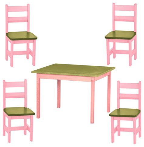 candy shop table and chairs play kitchen 5 piece set