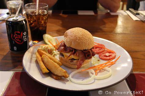 Burger Garage Menu by The Garage Burger Grill Go Powerkick Travel Journal