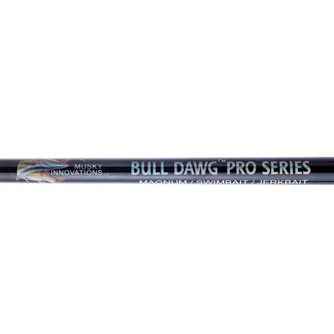 bass store italy musky innovations bulldawg rods pro series