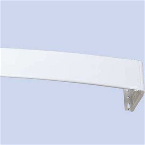 curved curtain rod for canopy continental curved rod 28 48in interior mall