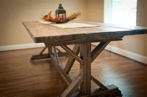 farmhouse table ana white farmhouse x table diy projects