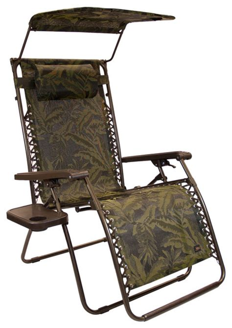 outdoor lounge chairs with canopy bliss hammocks wide gravity free reclining lounge chair