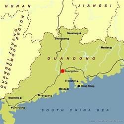 Canton China Map guangzhou map map of guangzhou guangzhou city map china