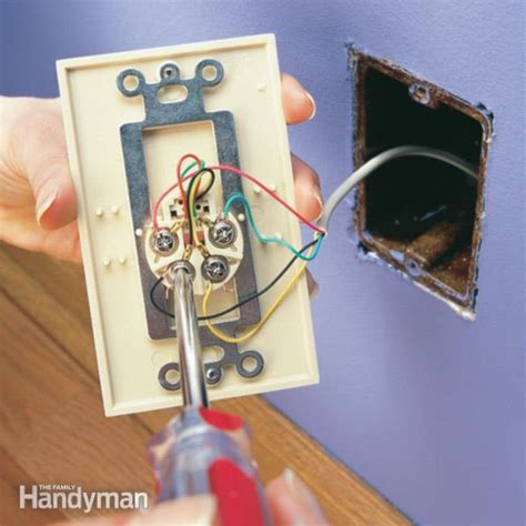 replace  phone jack  family handyman