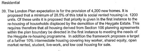 housing supplementary planning guidance affordable housing broken promises 35 caign