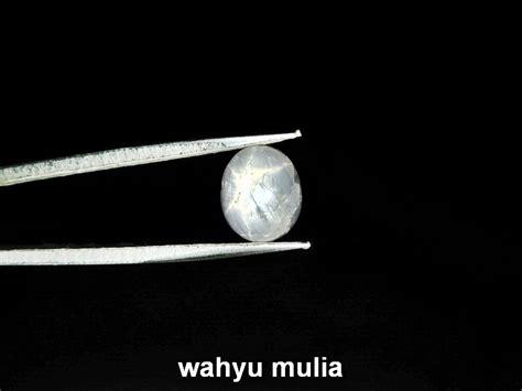 White Sapphire Burma Safir Putih batu permata safir putih asli kode 769 wahyu mulia