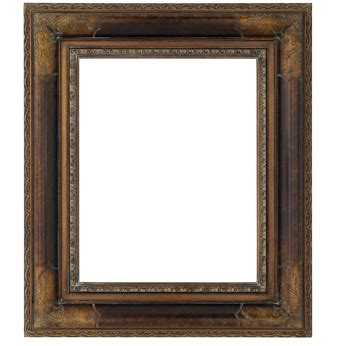 Decorative Picture Frames by Decorative Bronze Swept Picture Frame