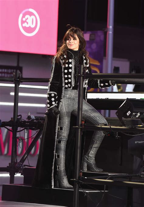 new year 2018 in los angeles camila cabello attends clark s new year s rockin