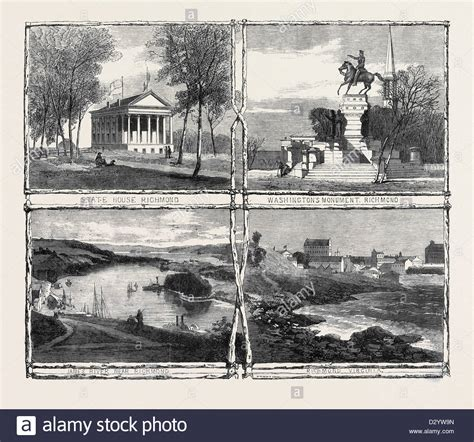Richmond Images Of America the civil war in america sketches from richmond virginia