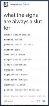 Meme Zodiac Signs - the signs as horoscope meme dethrones disney princesses