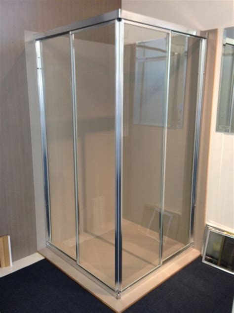 space saver shower bath fully framed